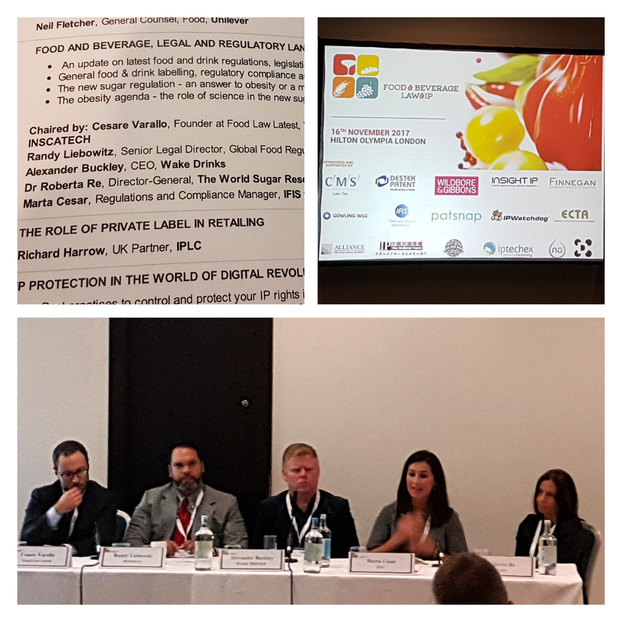 Food and Bev Law and IP Conference - Marta | IFIS Publishing