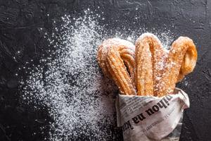 Sugary churros | IFIS Publishing