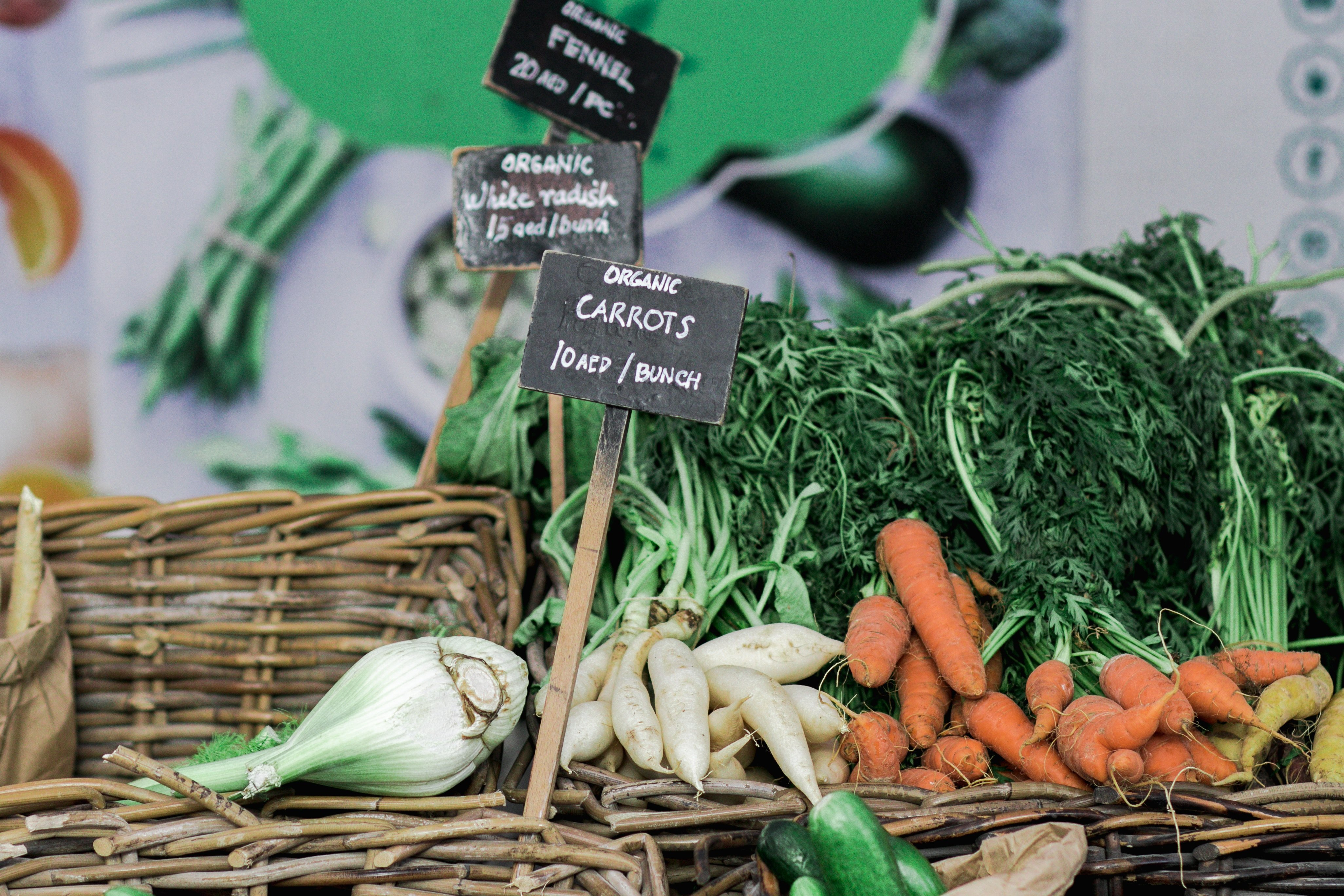 Fresh organic vegetables   IFIS Publishing