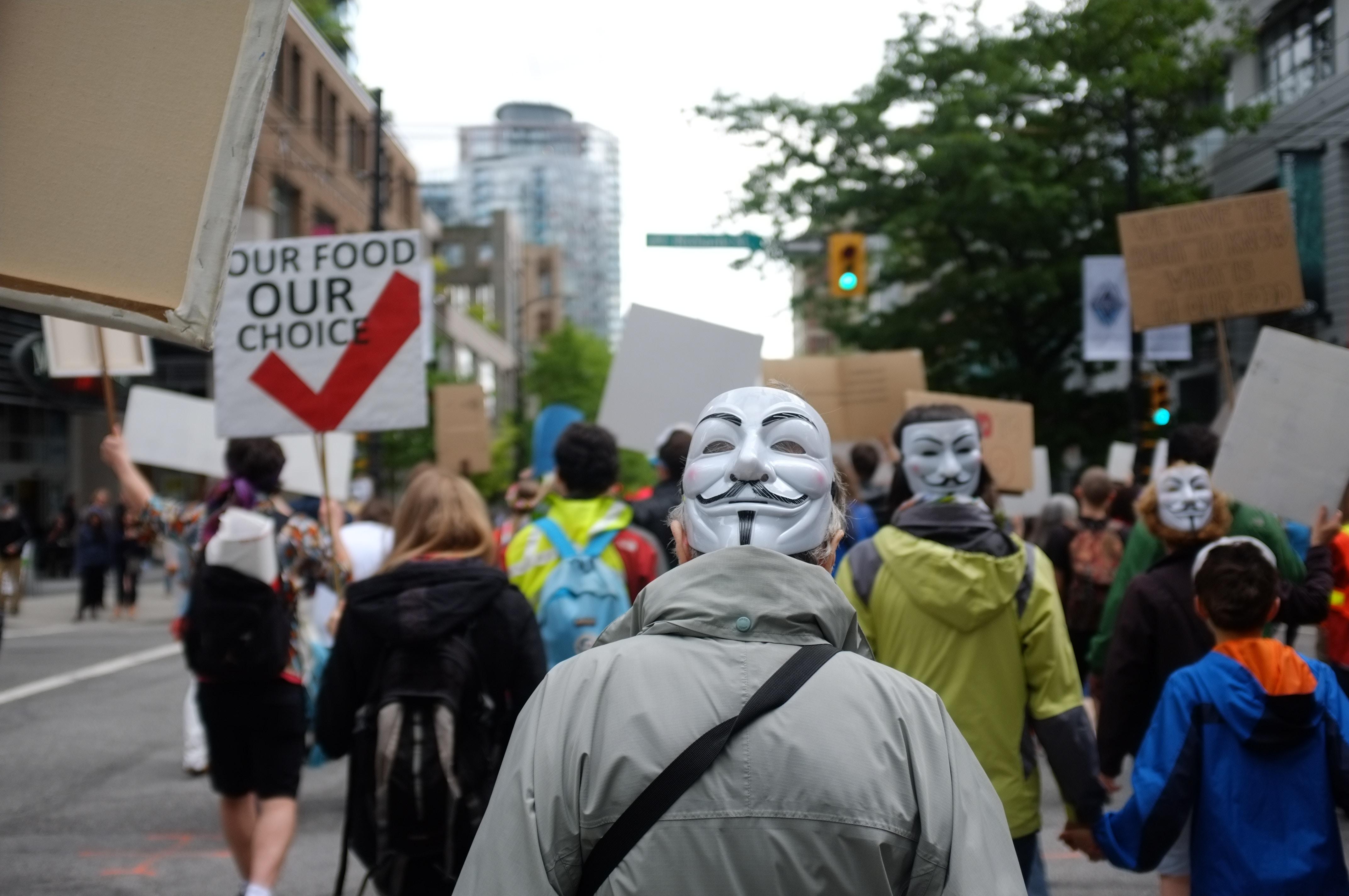 Protest against GMO I IFIS Publishing