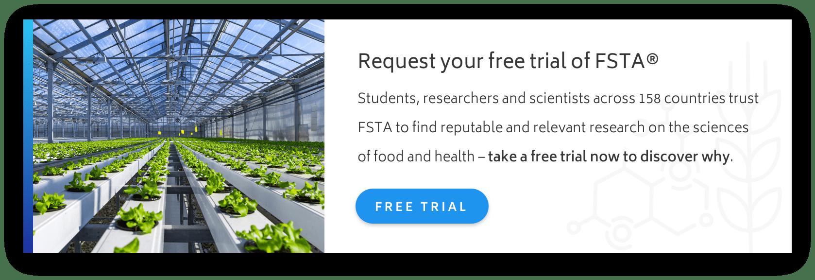 Free Trial of FSTA